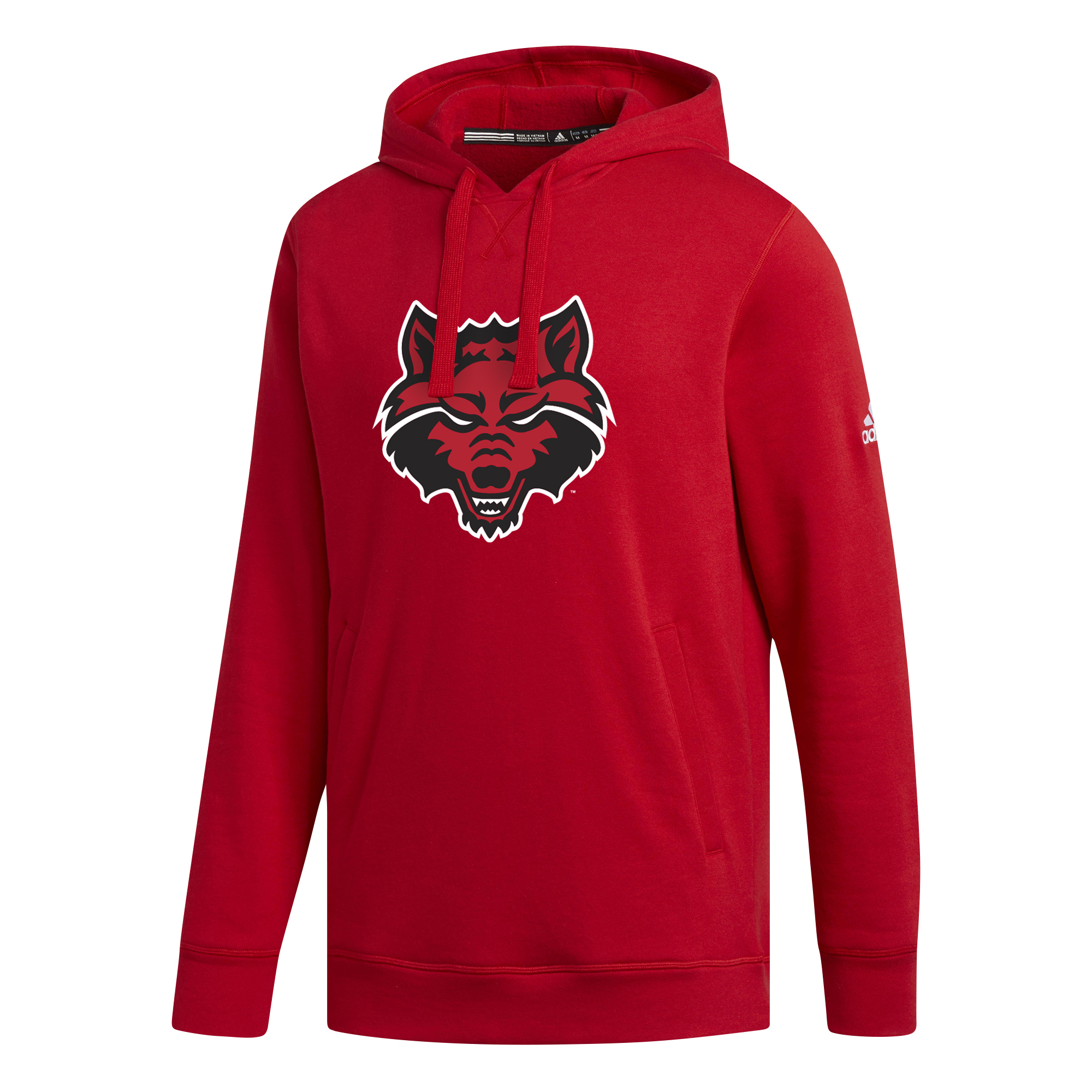 Red Wolves Fleece Hood