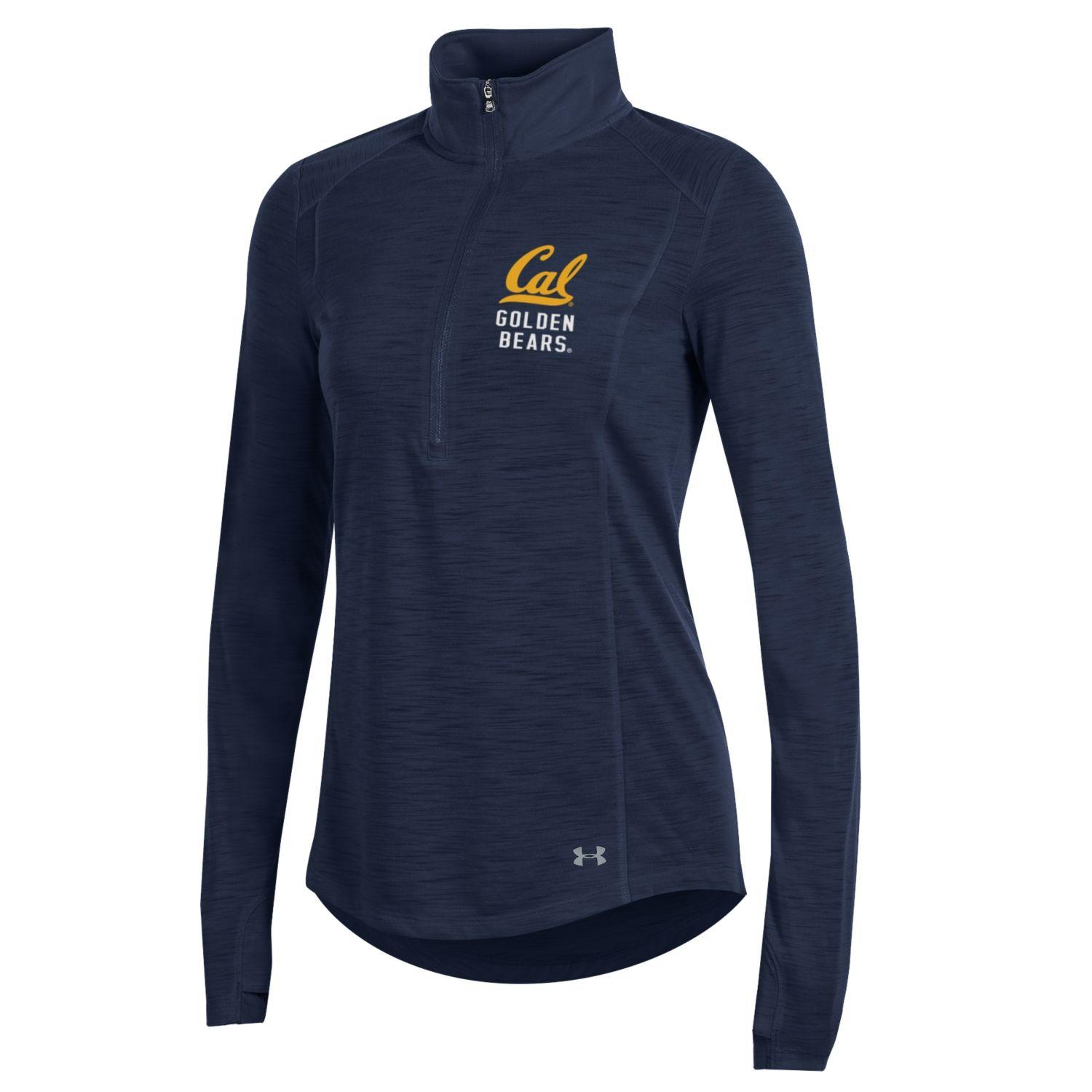 University of California Berkeley Under Armour Threadborne Slub 1/4 Zip