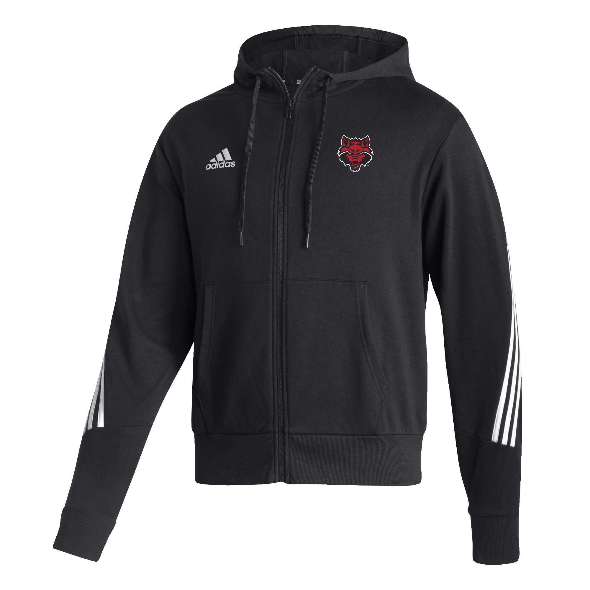 Red Wolves Fashion Full Zip Hoodie