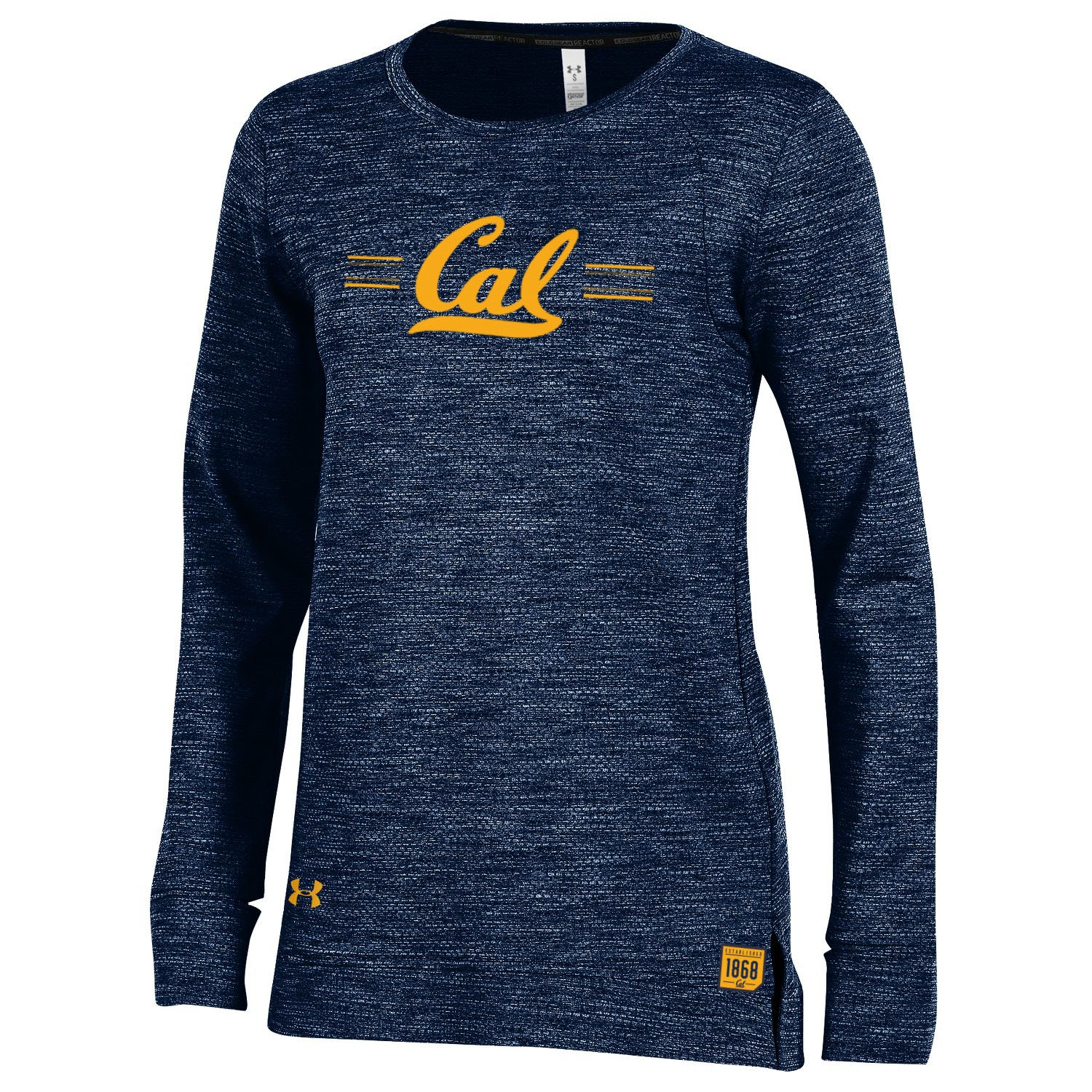 University of California Berkeley Under Armour Women's Reactor Long Sleeve Crew