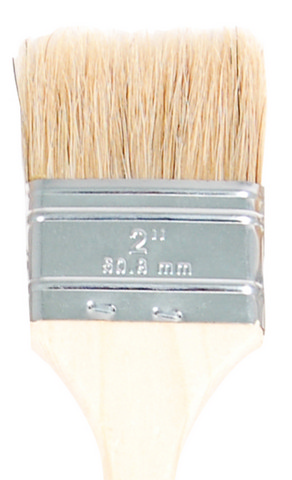 White Bristle Utility Chip Brushes