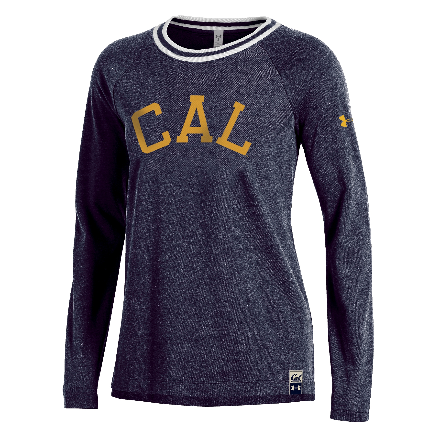 University of California Berkeley Under Armour Womens Iconic Rugby Jersey LS Tee