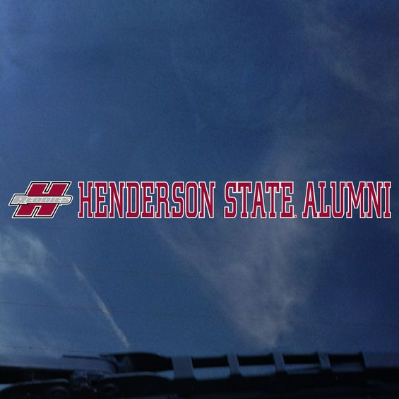 Henderson State Alumni Decal