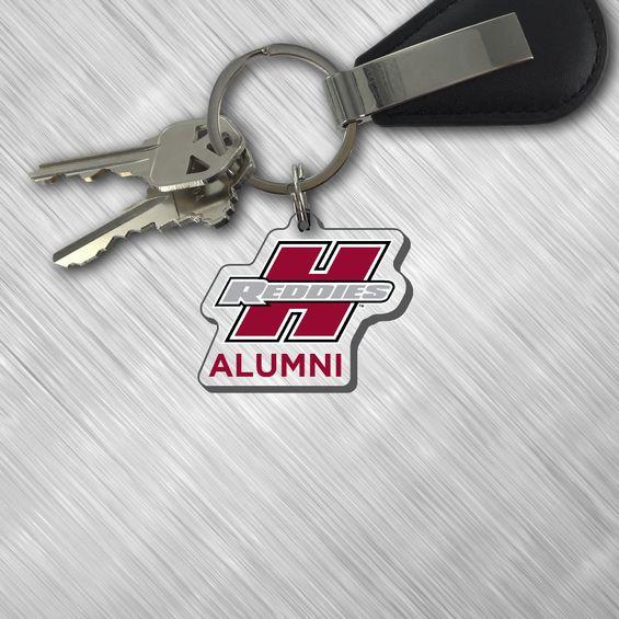 Henderson Reddies Alumni Key Tag
