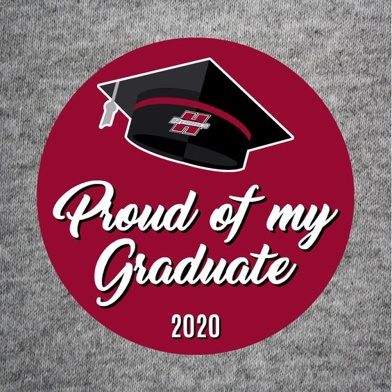 Proud of my Graduate 2020 Button
