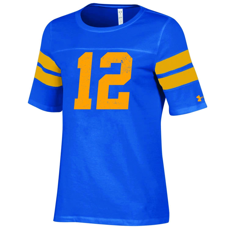 University of California Berkeley Under Armour Women's Sideline Iconic Football Tee