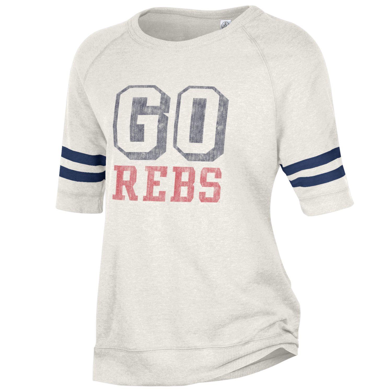 Go Rebs Short Sleeve Sweatshirt