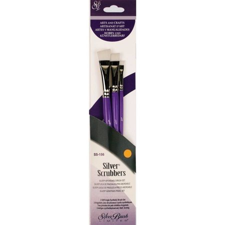 Silver Scrubbers Brush Sets 3pc