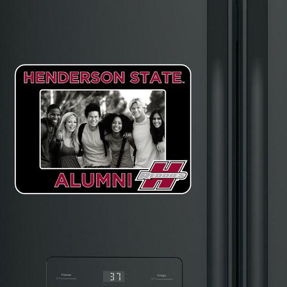 Henderson State Alumni Photo Frame Magnet
