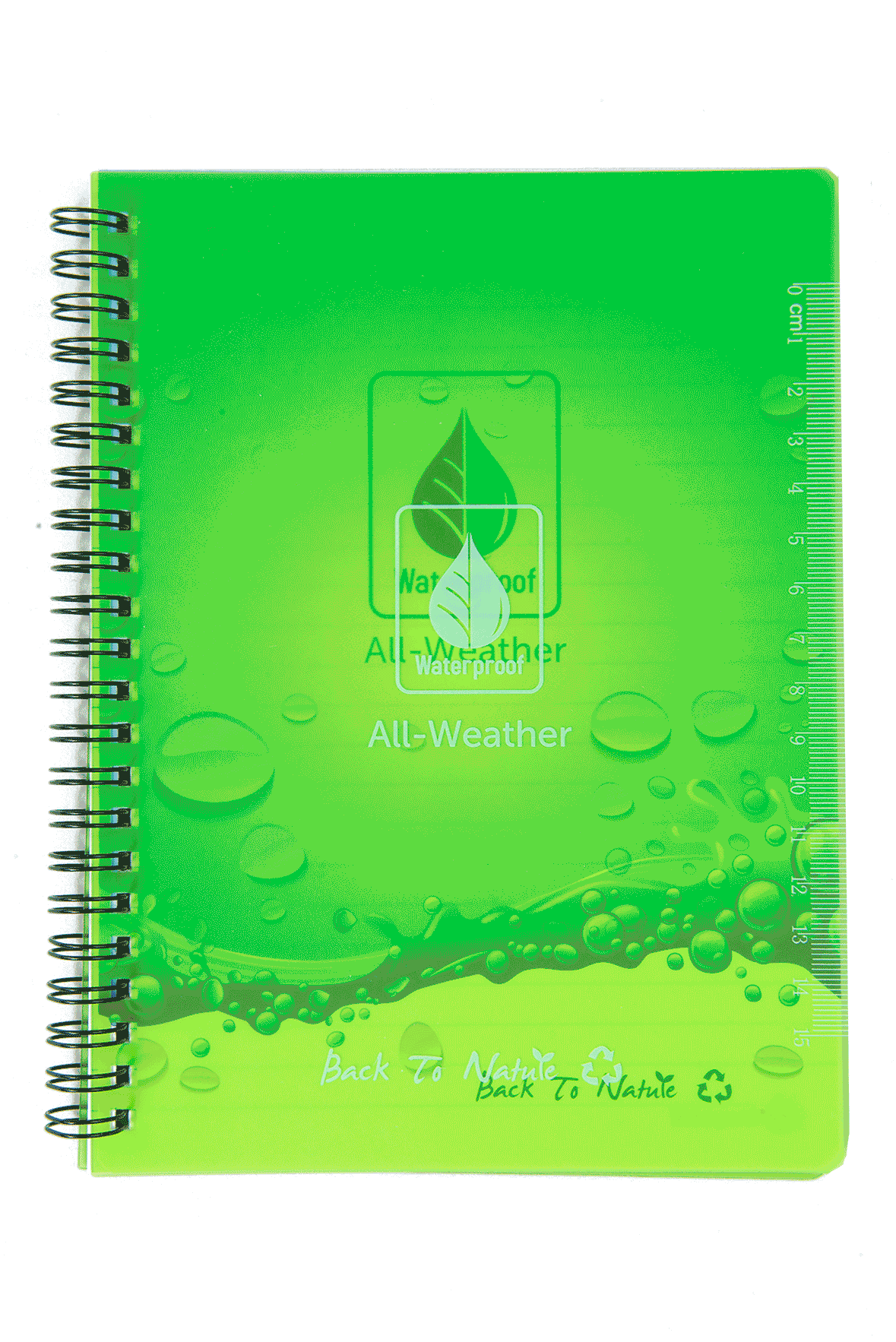 Waterproof Personal Eco Stone Notebook Lined
