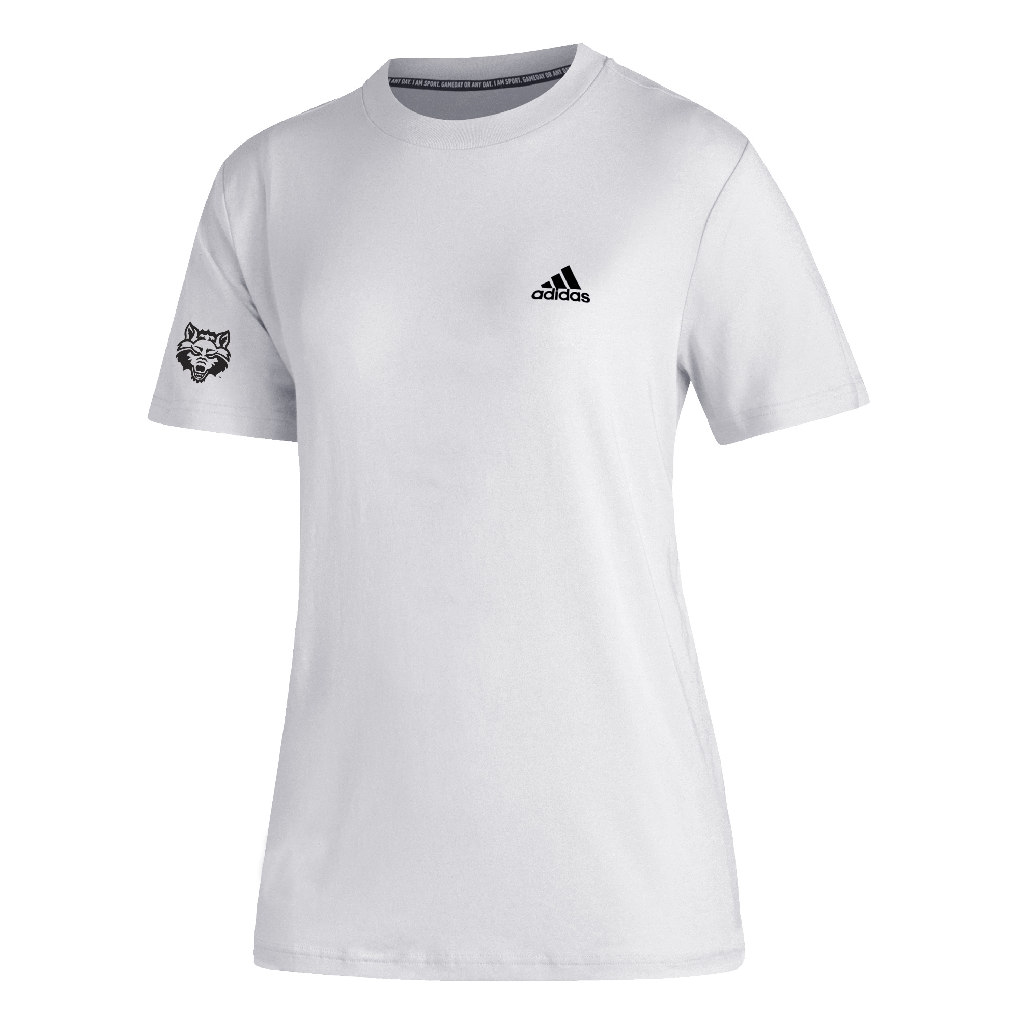 Red Wolves Must-Have 3-Stripe SS Training Tee