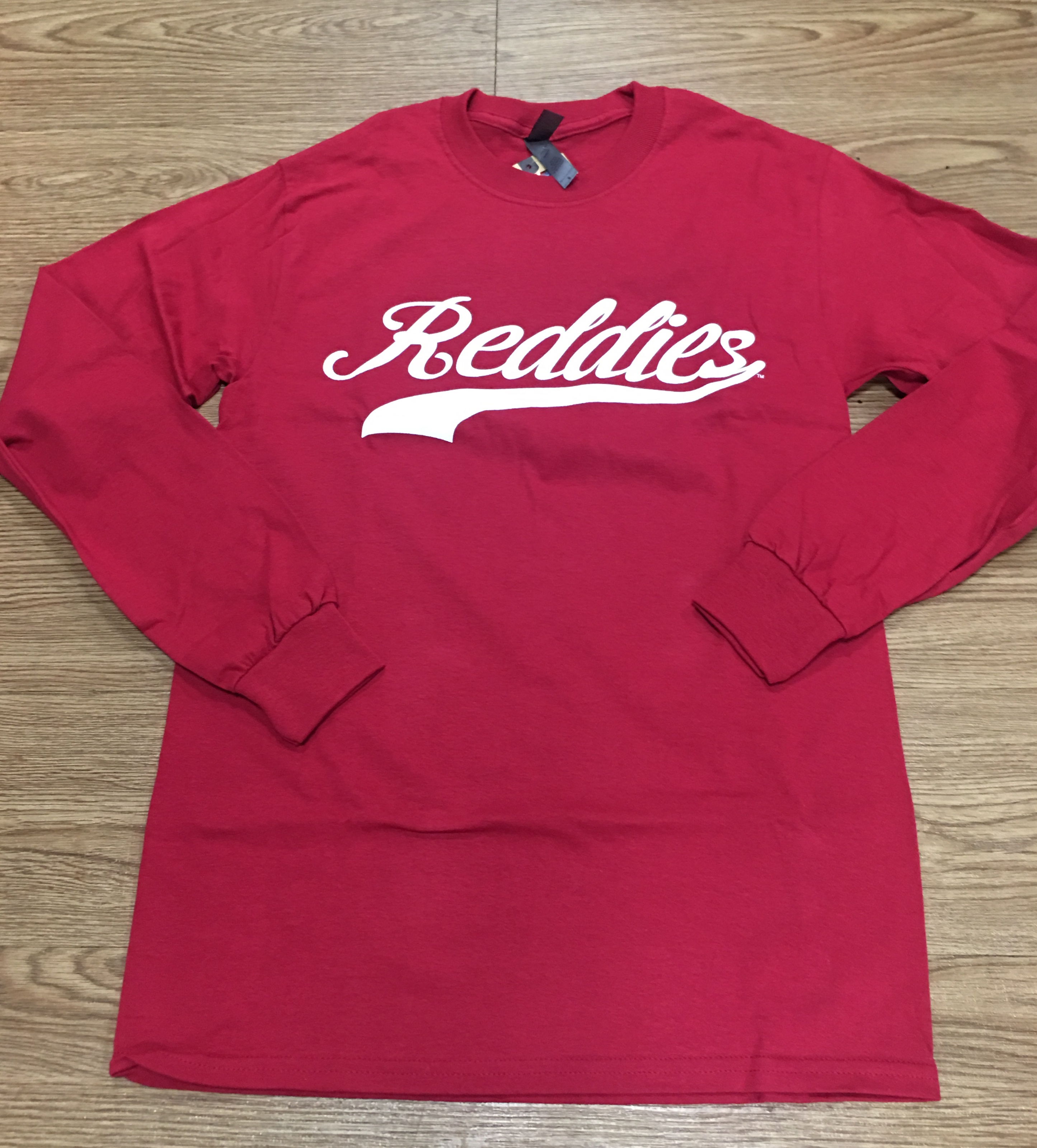Reddies Script Long Sleeve T-Shirt