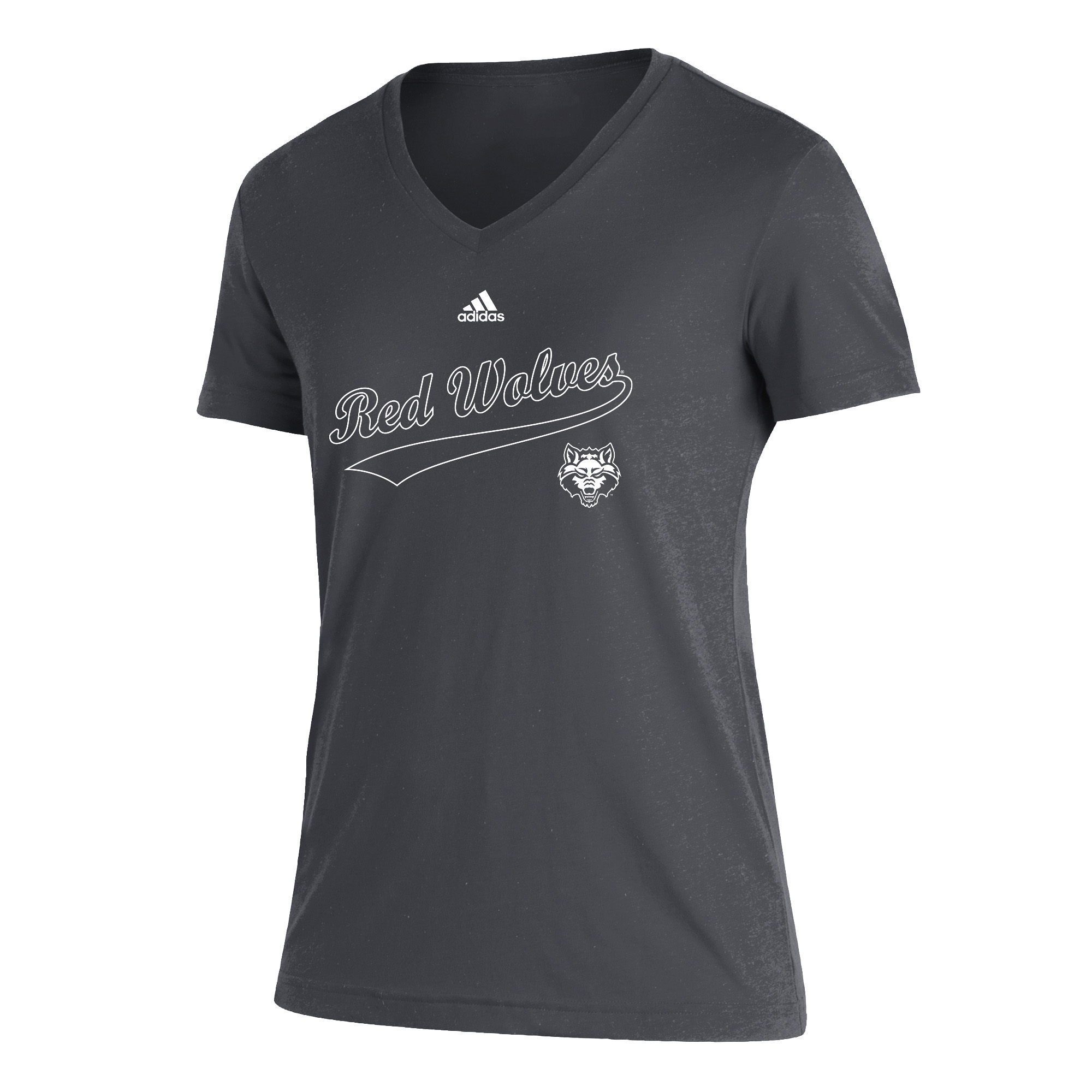 Red Wolves Womens Blend SS Tee