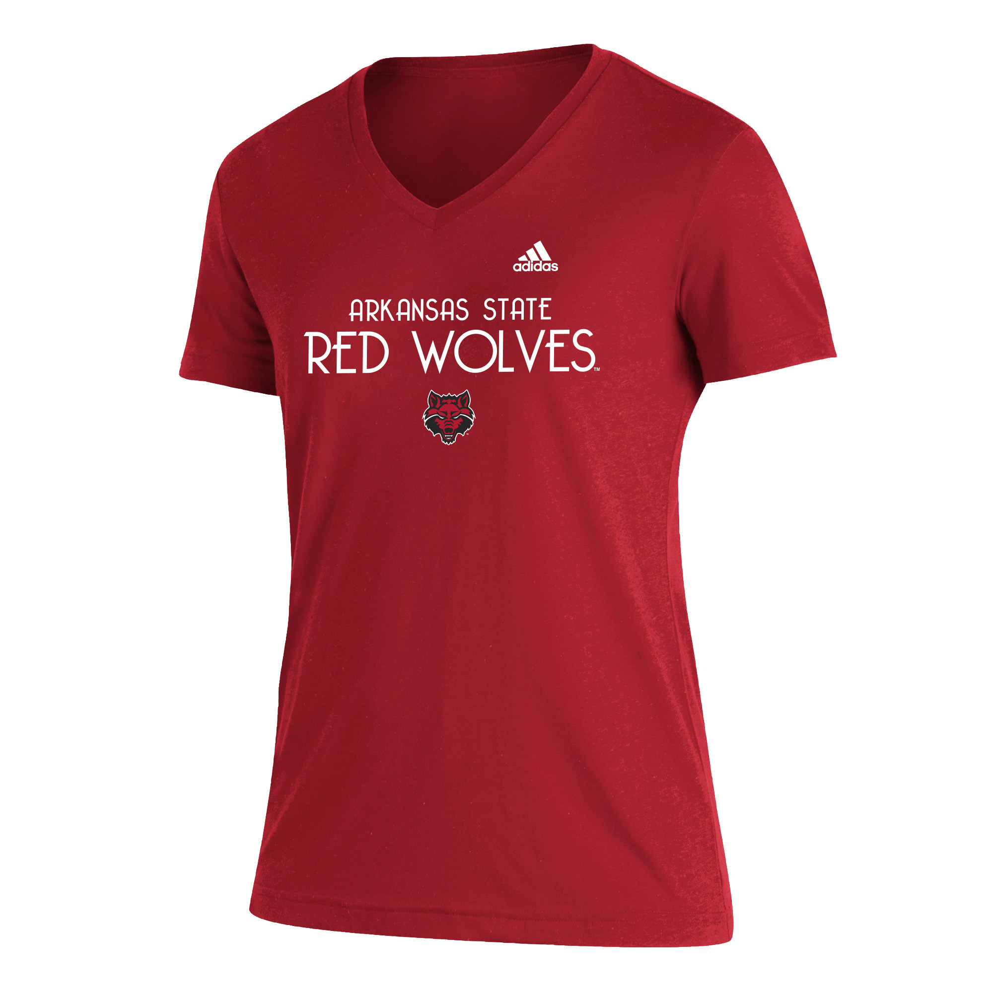 Arkansas State Red Wolves Womens Blend SS Tee