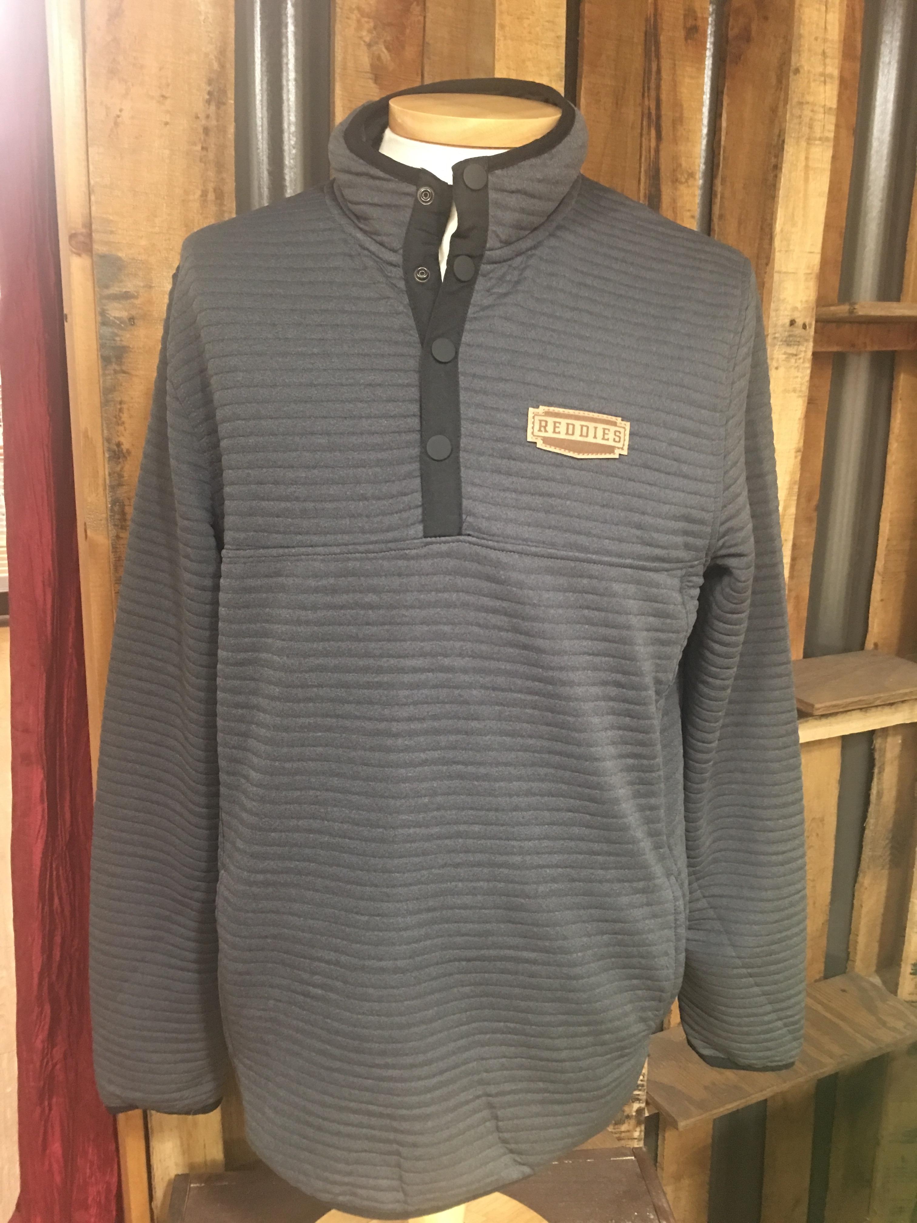 Reddies Chase 1/4 Snap Long Sleeve Shirt