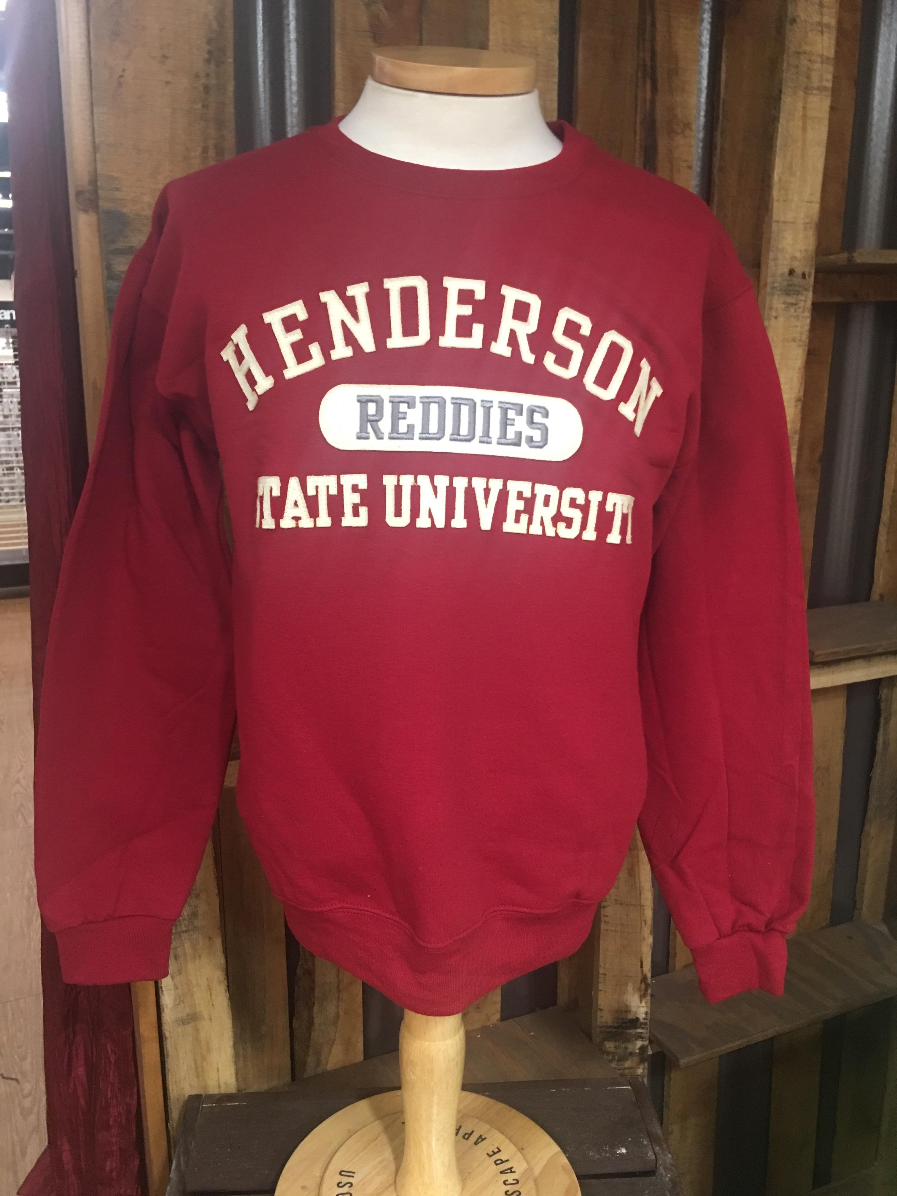Henderson State University Reddies Crew Sweater