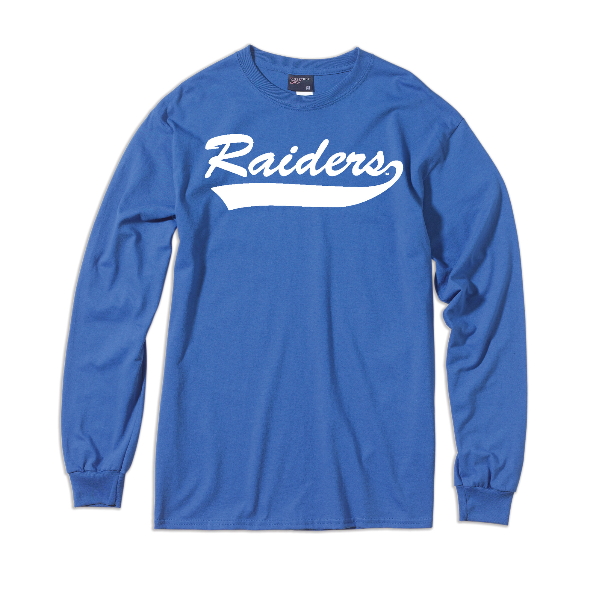 Raiders Vintage Script Long Sleeve Shirt