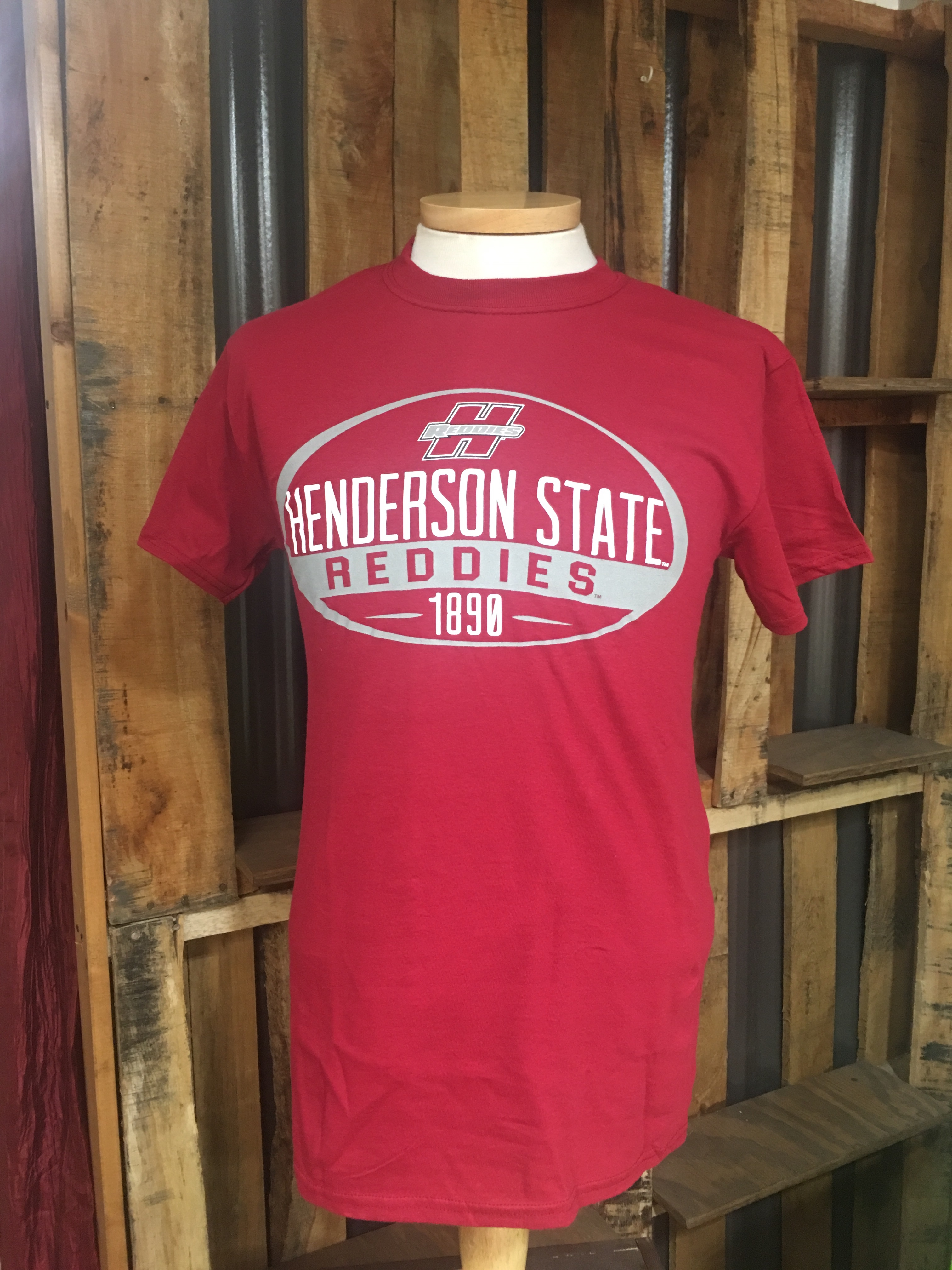 Henderson State Reddies 1890 Short Sleeve T-Shirt