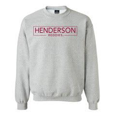Henderson Reddies Fleece Crew Sweatshirt