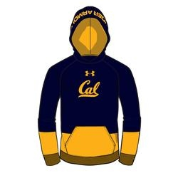 University of California Berkeley Under Armour  Boys Hood Script Cal Logo