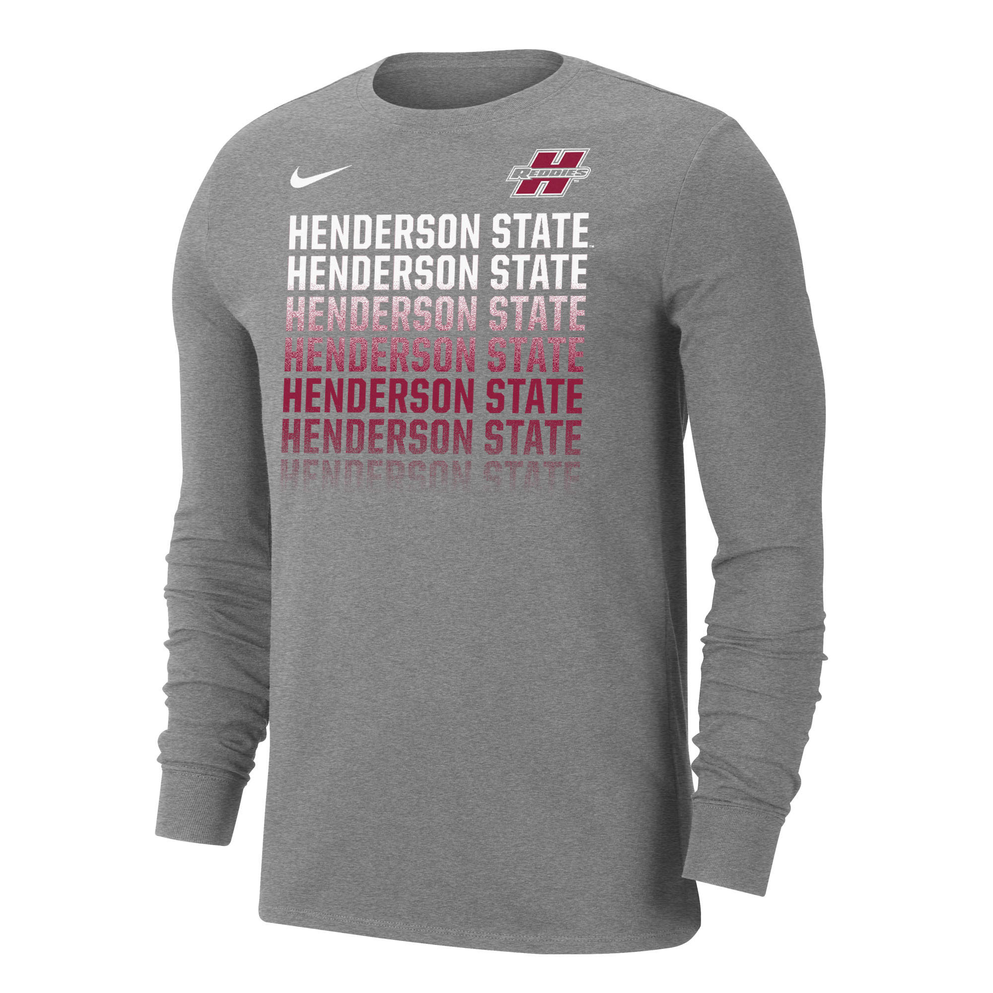 Henderson State Reddies Dri-Fit Long Sleeve T-Shirt