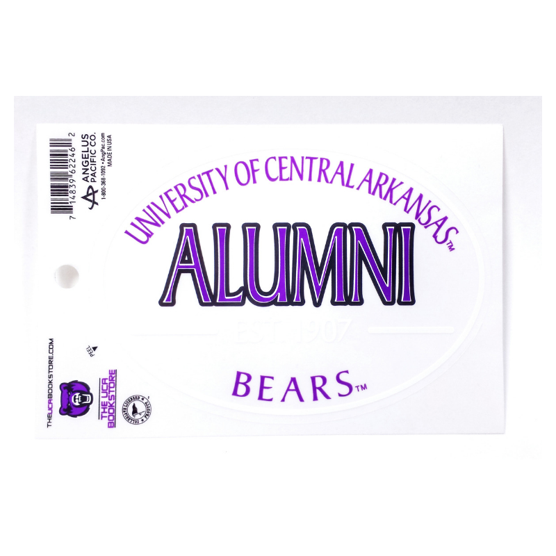 Alumni Euro Decal