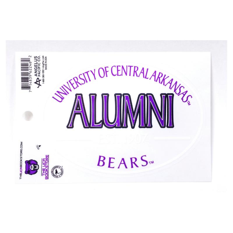 Alumni Euro Decal