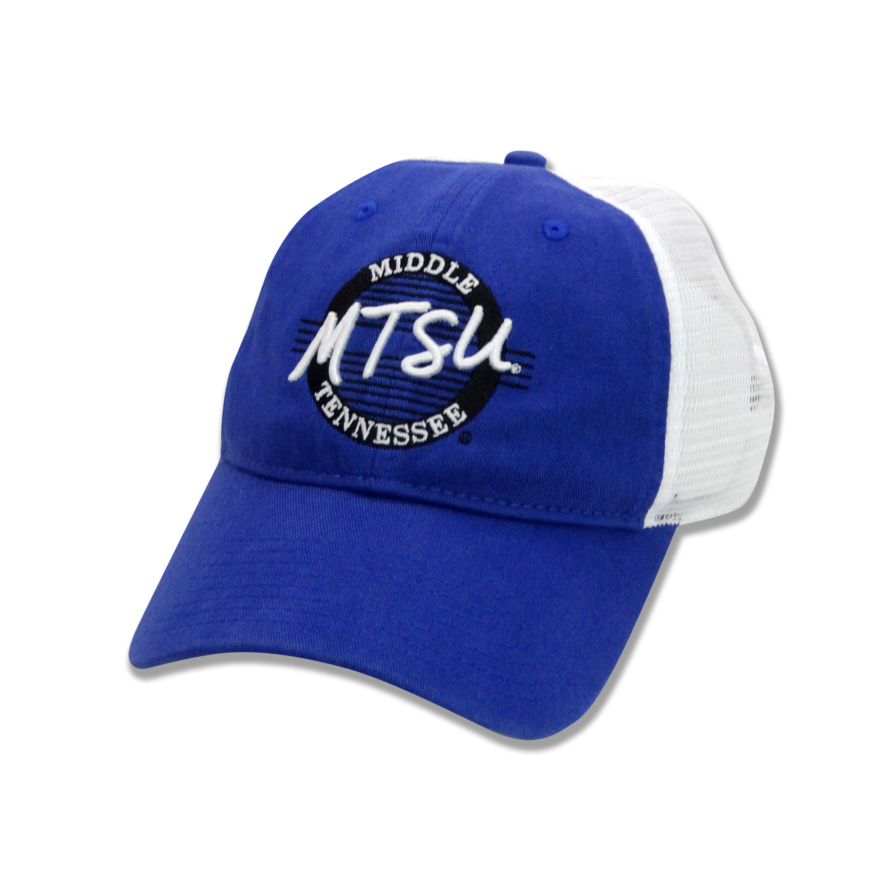 Middle Tennessee Circle Logo Trucker Take Along Hat