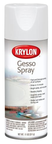 Krylon Gesso Spray, 11 oz.