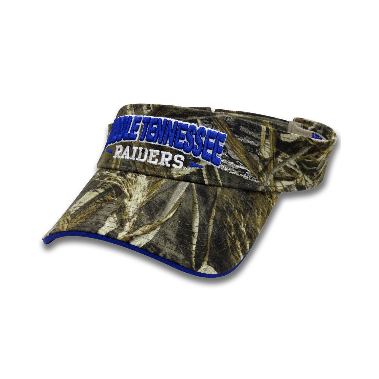Middle Tennessee Raiders Camo Visor