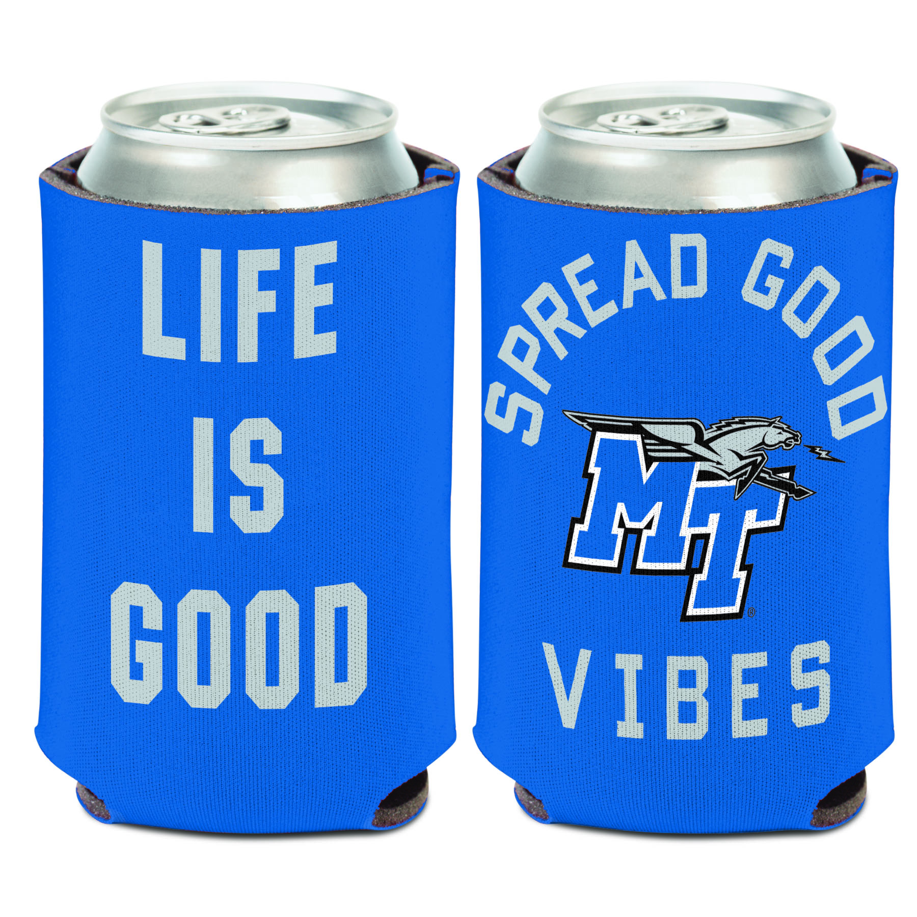 MT Logo Spread Good Vibes Can Coozie
