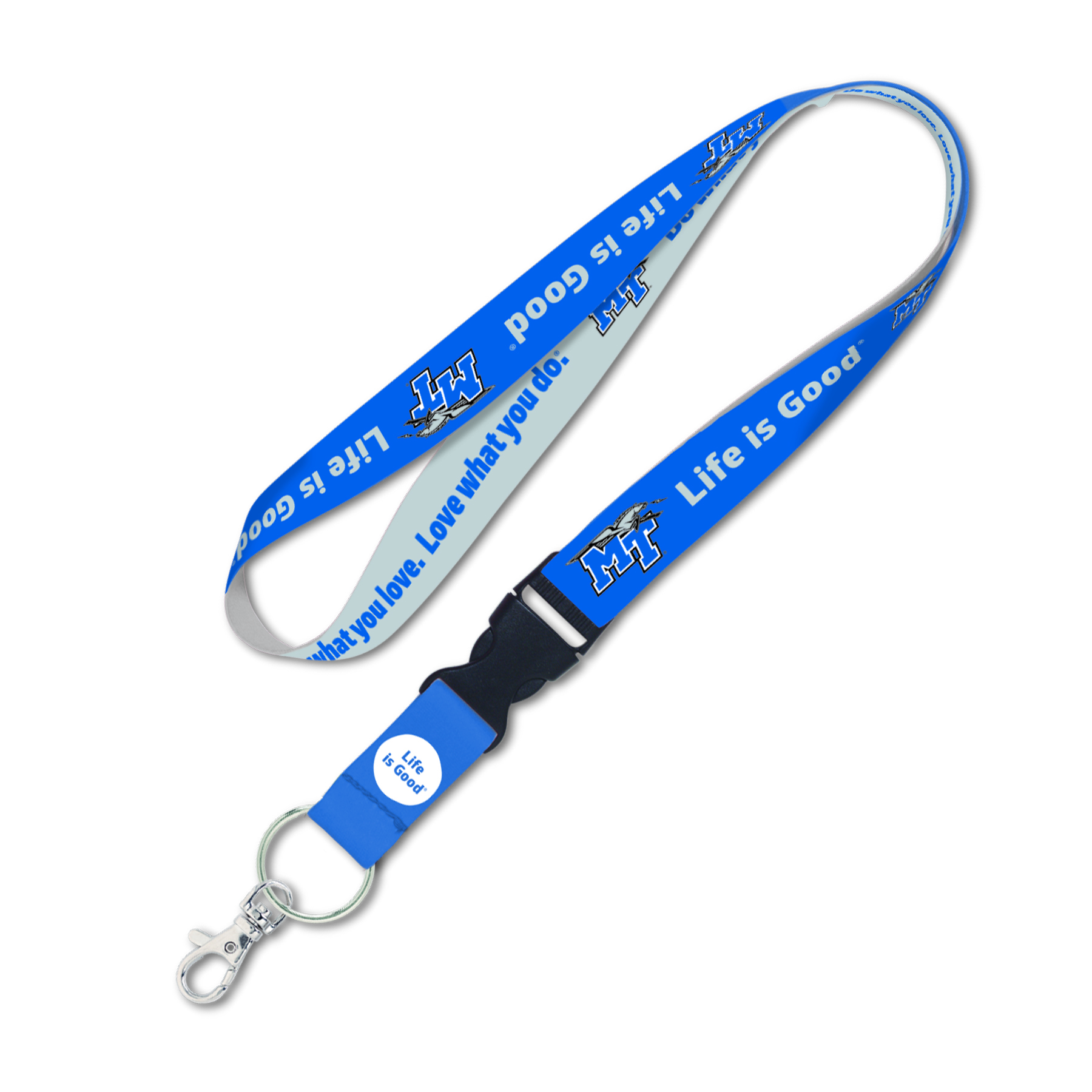 "MTSU Life is Good 1"" Lanyard"