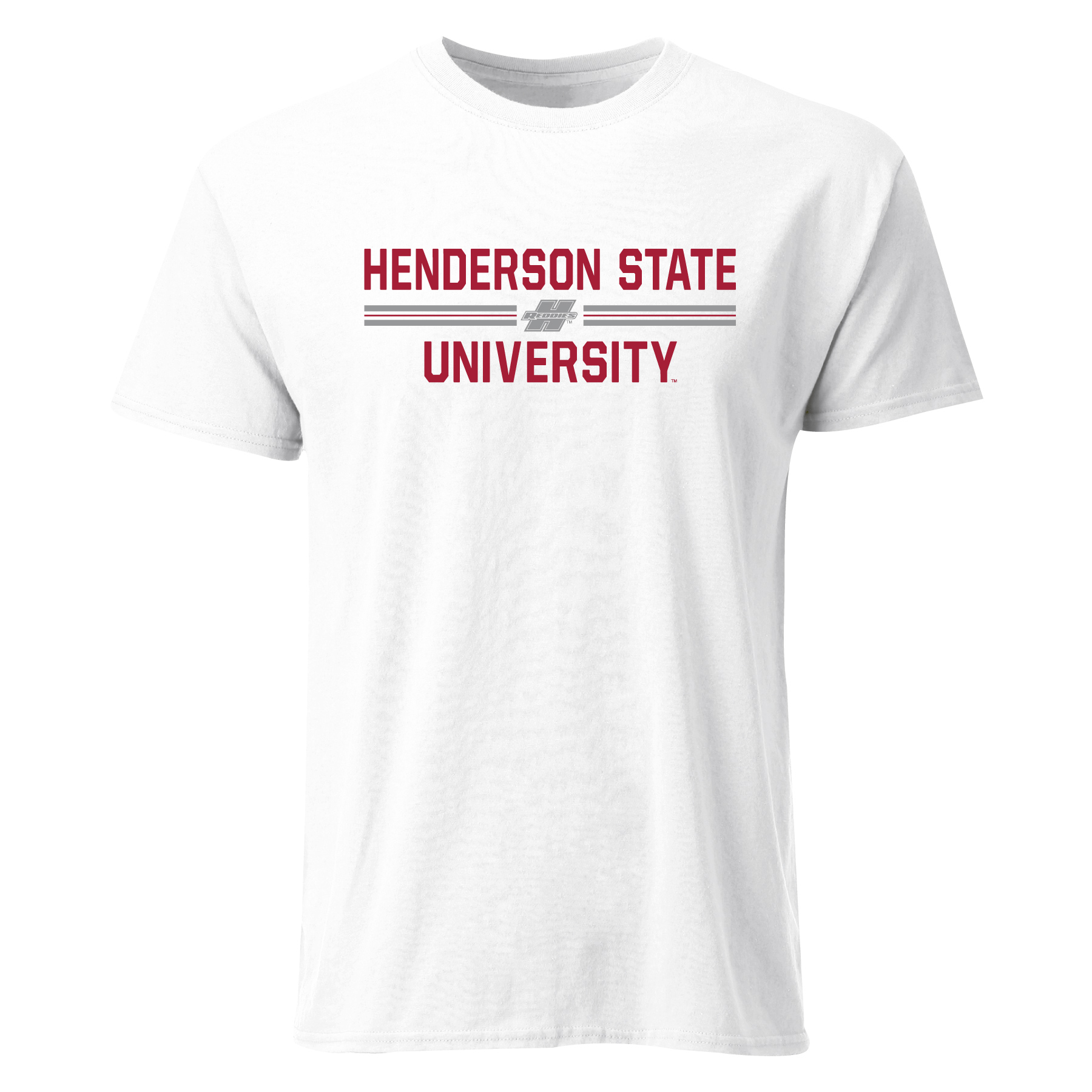 Henderson State University Reddies Colorblock Short Sleeve T-Shirt
