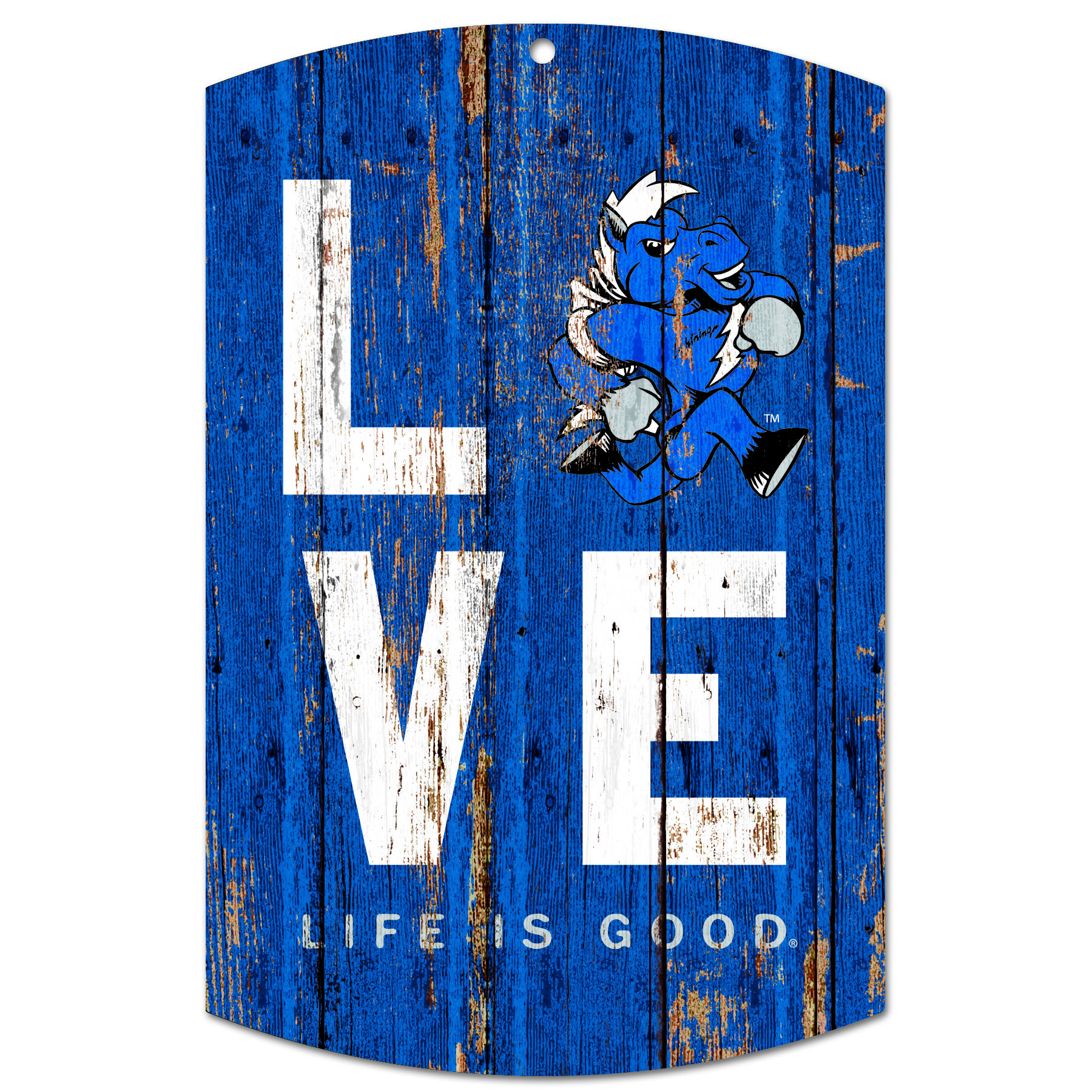 MT LOVE Life is Good Wooden Sign