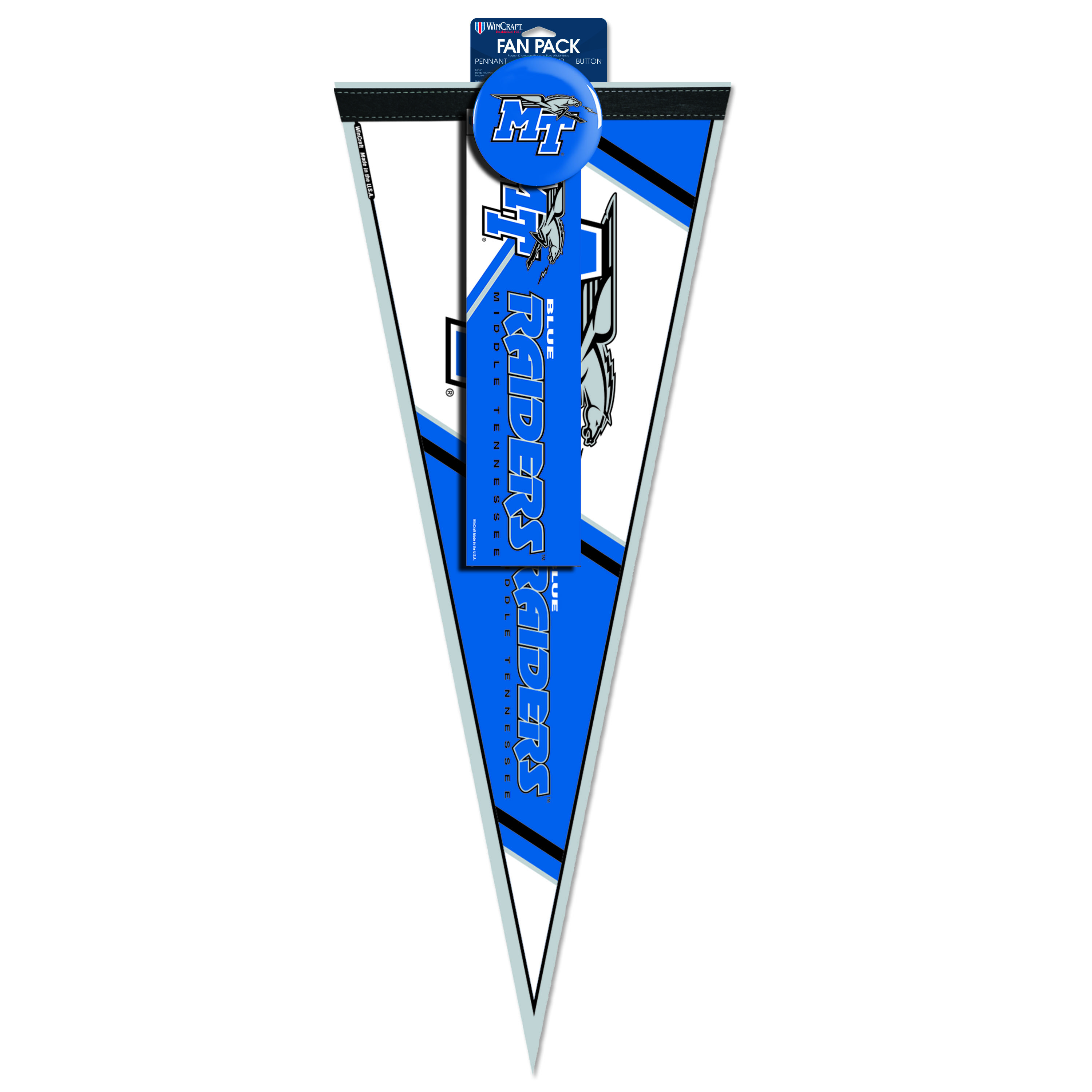 MT Blue Raiders 3-piece Fan Pack