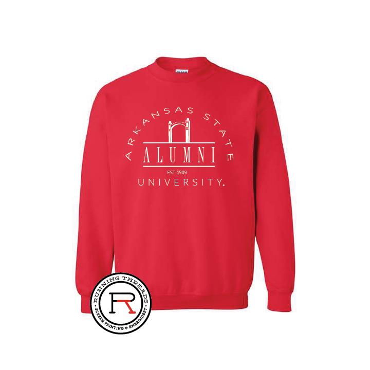 Arkansas State Alumni Crewneck Sweatshirt