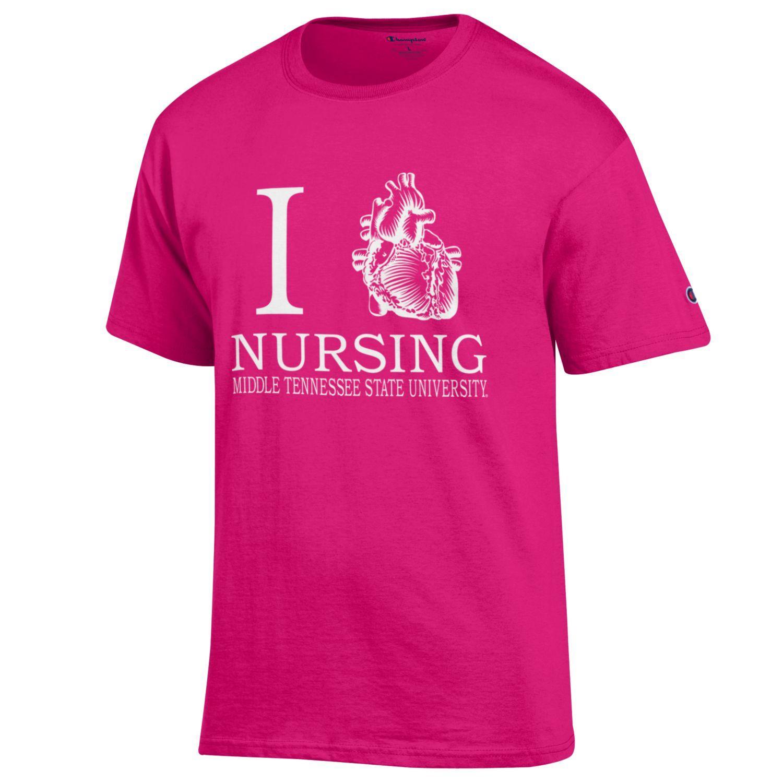 I Heart Nursing MTSU Shirt