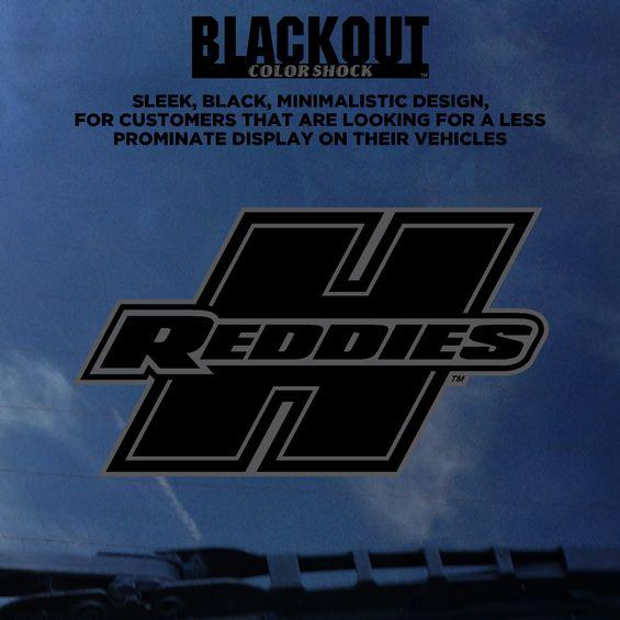 Henderson Reddies Black-Out Decal