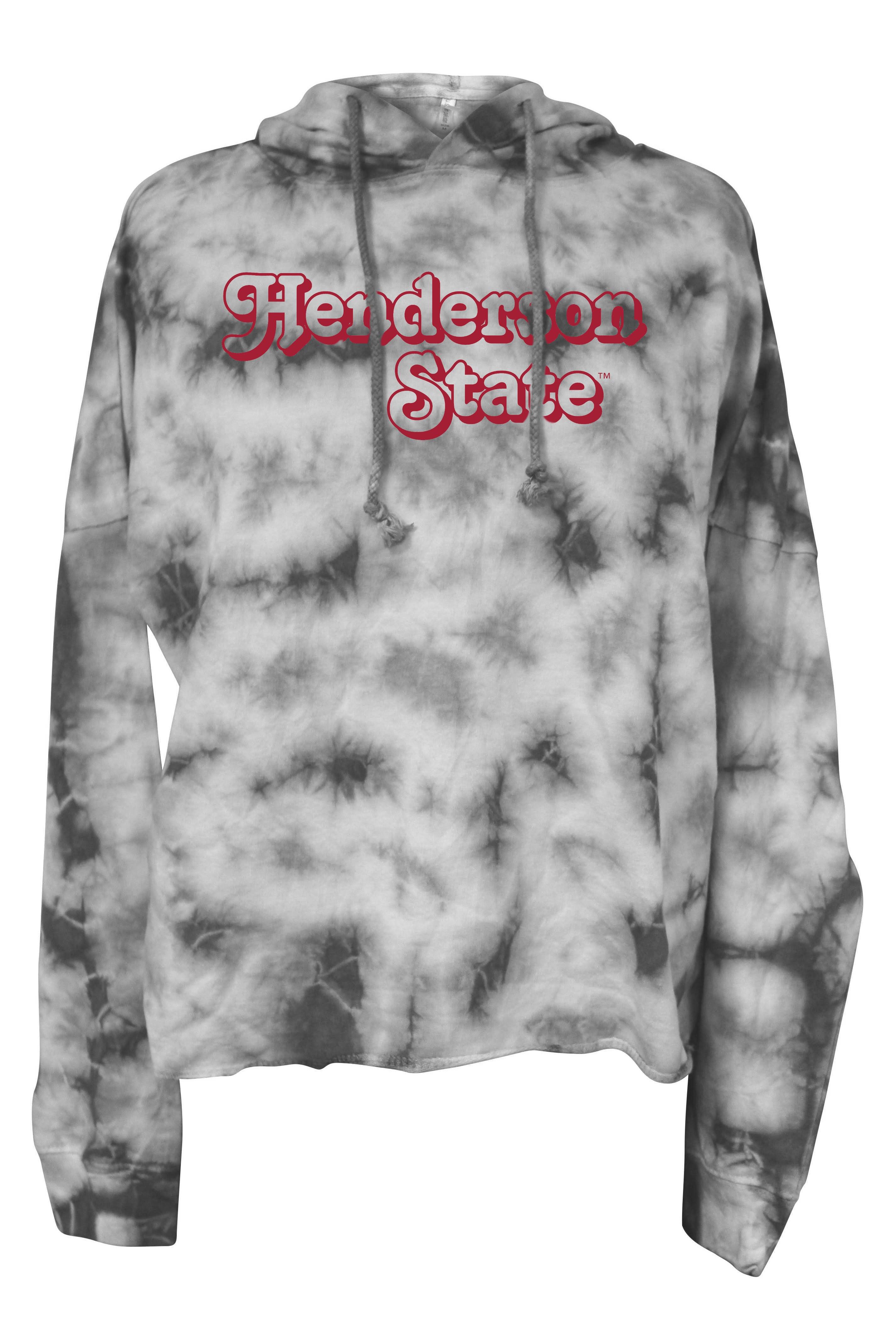 Henderson State Tie Dye Hoodie