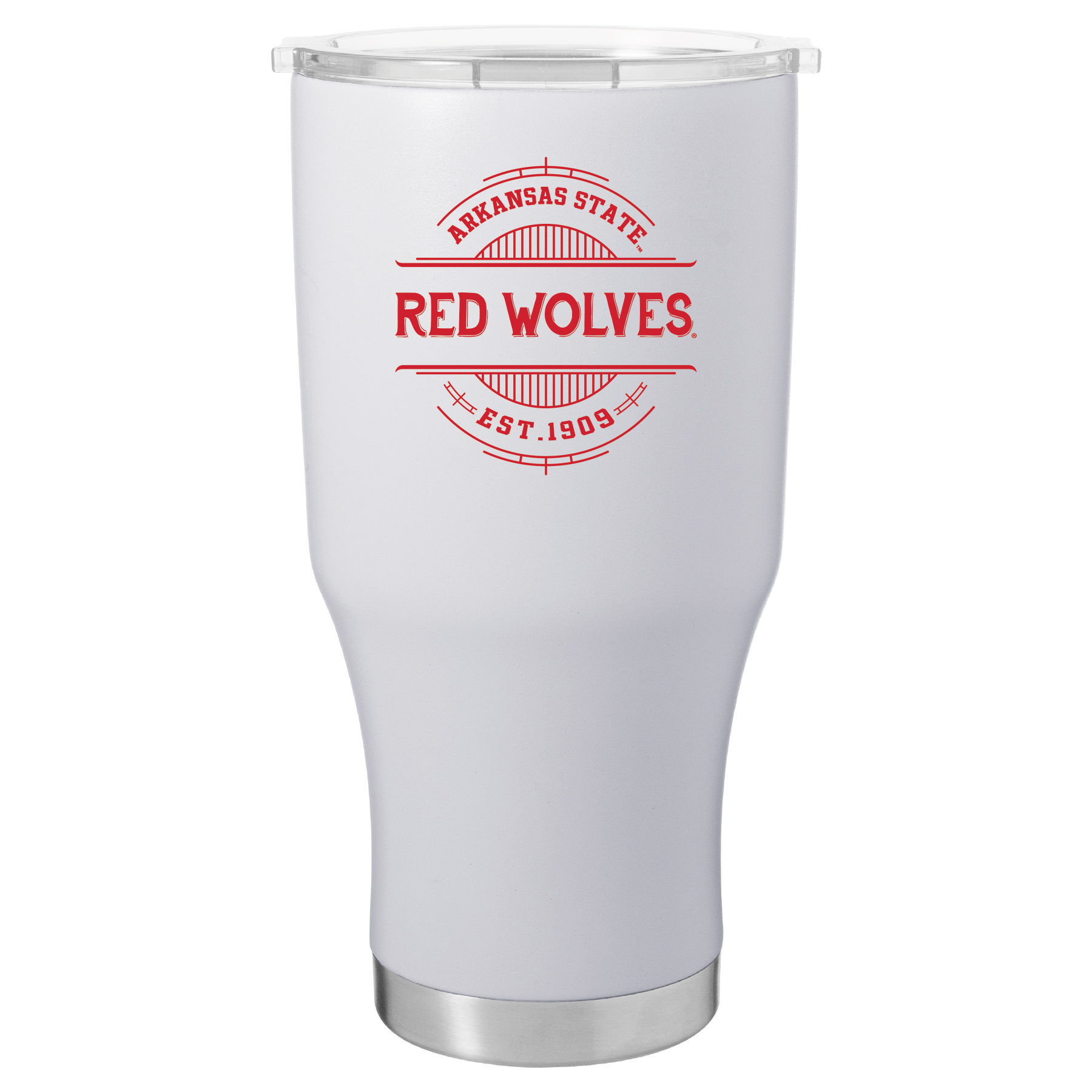 Arkansas State Red Wolves 28oz Tumbler