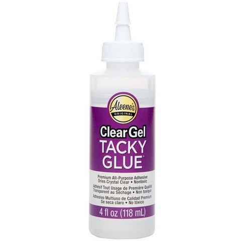 Aleene's Clear Gel Tacky Glue 4 oz