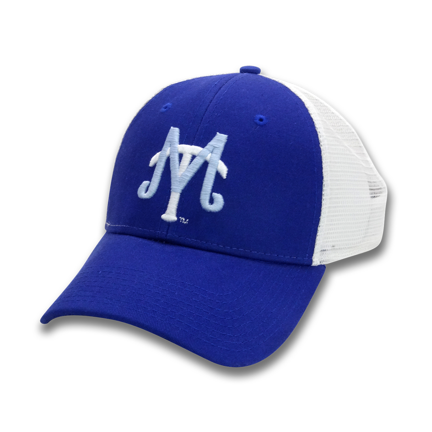 MT Baseball Logo Low Profile Trucker Hat