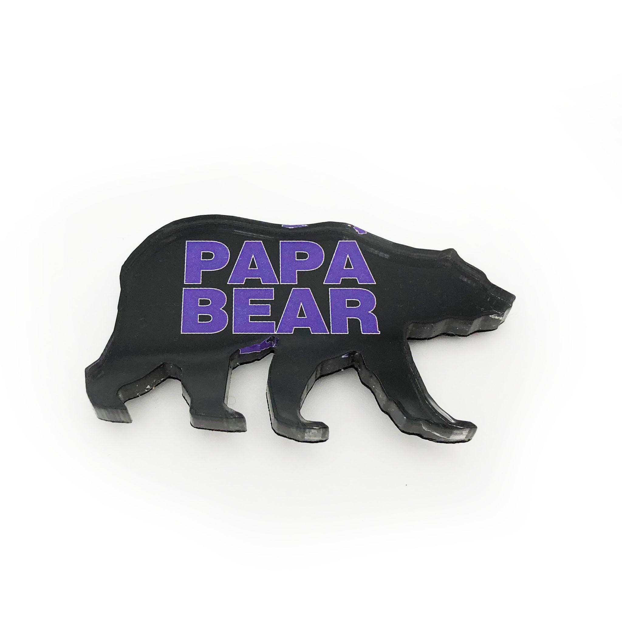 UCA Papa Bear Magnet