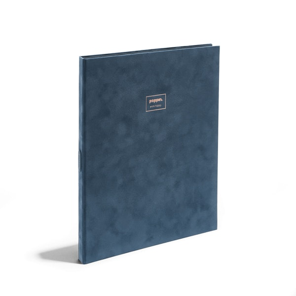 Large Velvet Padfolio with Writing Pad