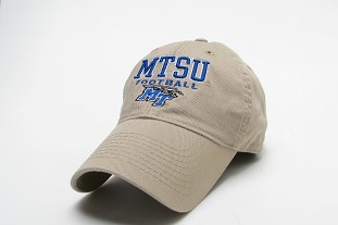 MTSU Football Relaxed Twill Hat