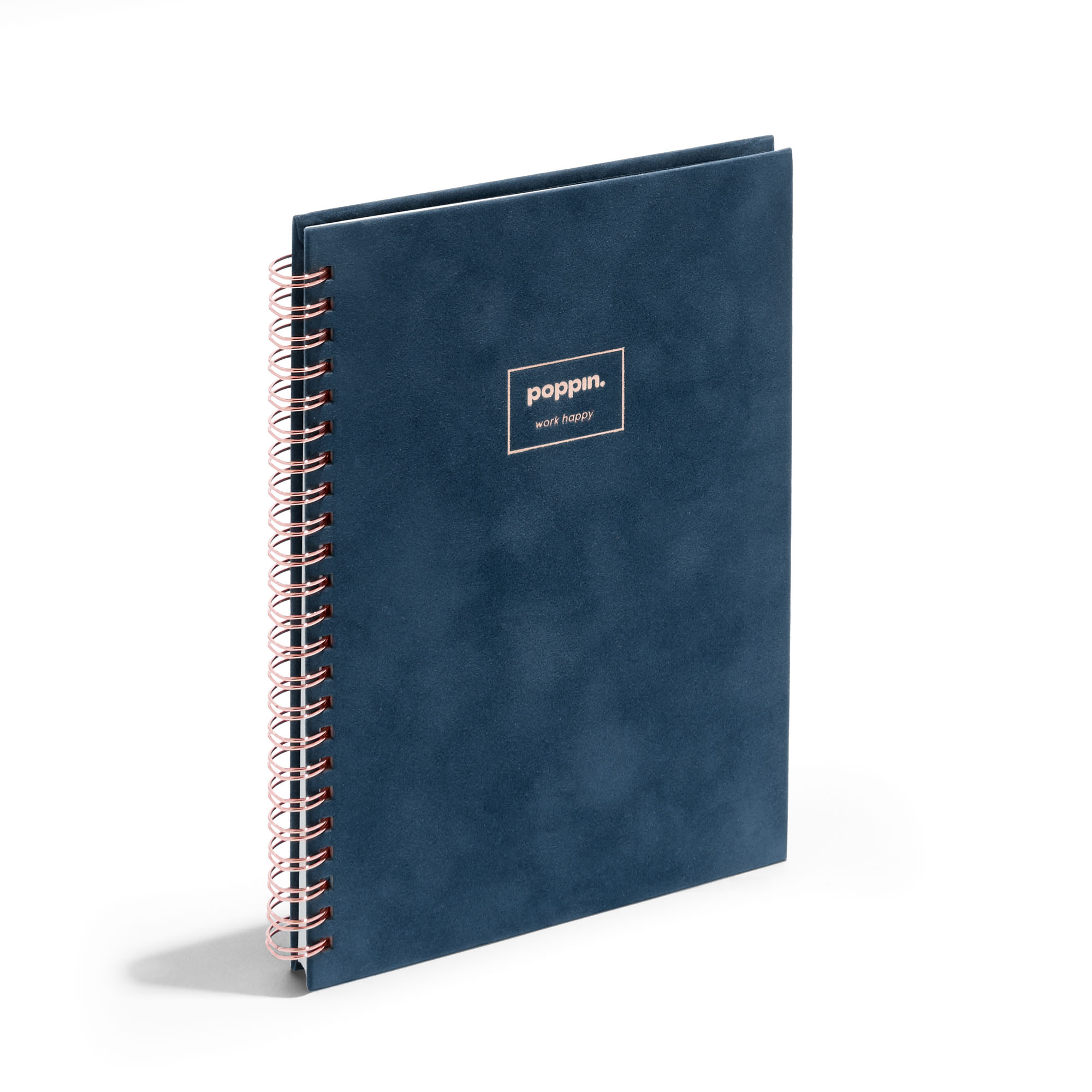 Velvet Medium Spiral Bound Notebook Dot Grid