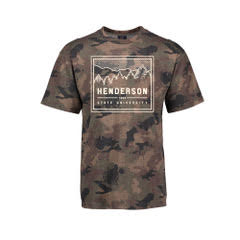 Henderson State University 1890 Camo Short Sleeve T-Shirt