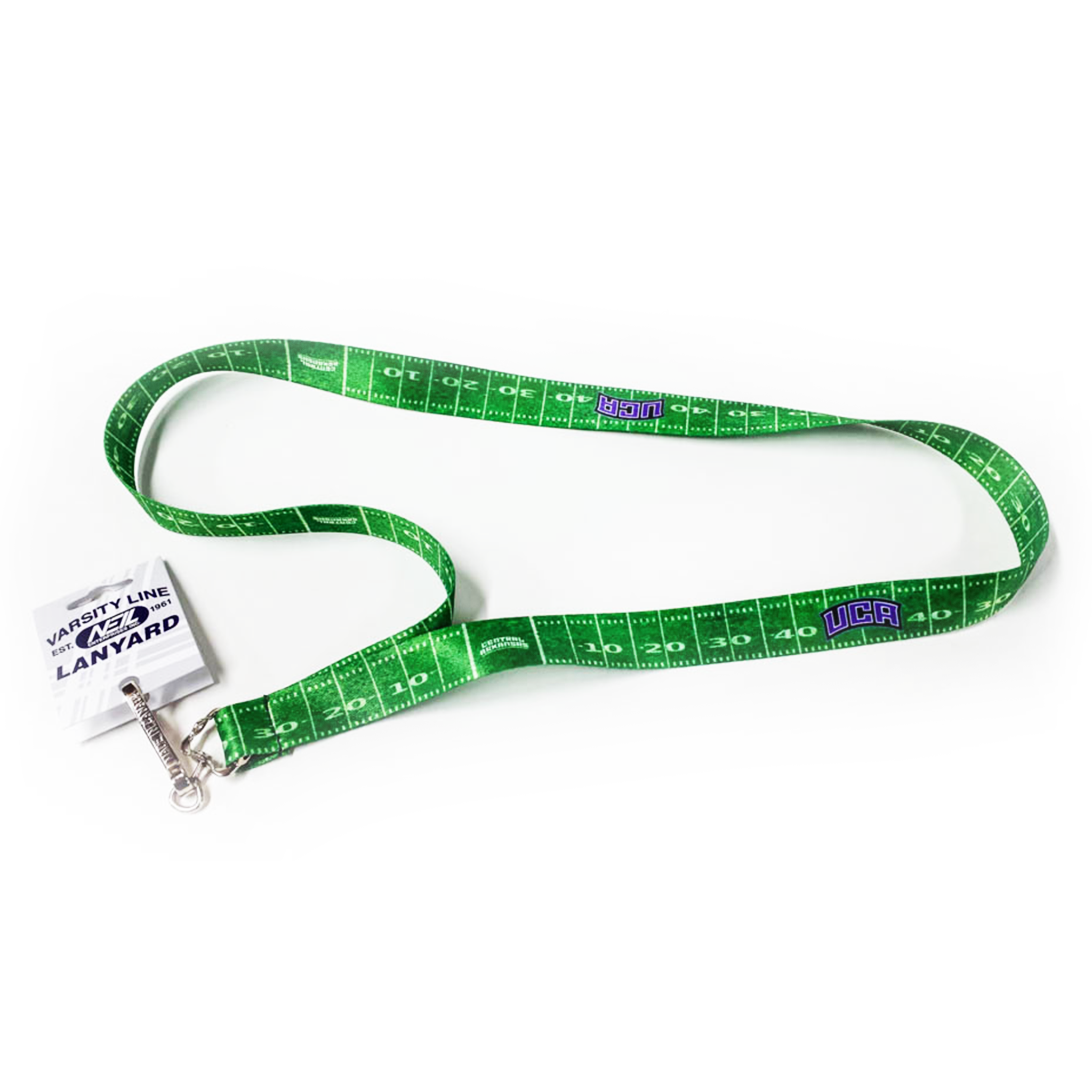 UCA Football Field Lanyard