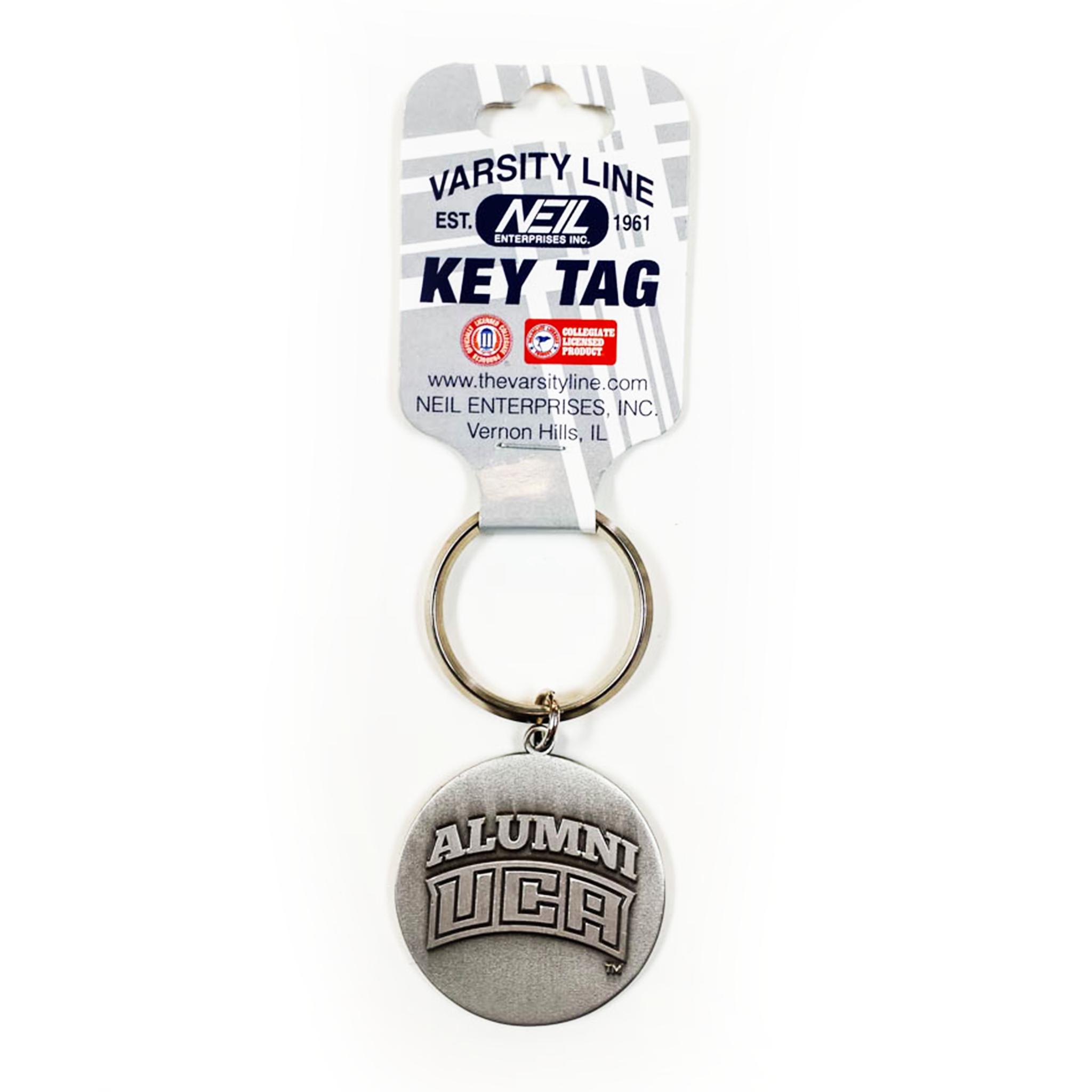 Alumni Round Keytag