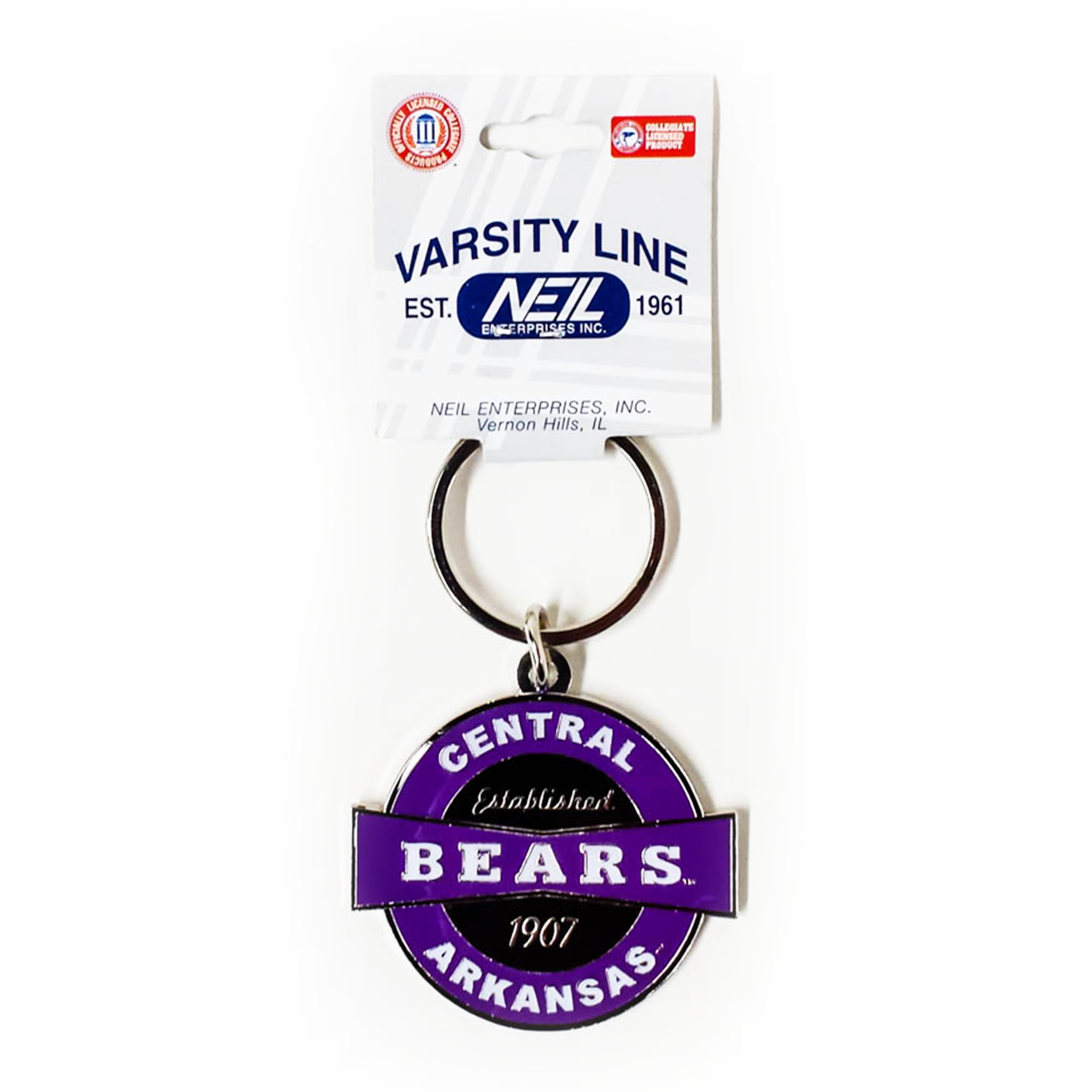 UCA Metal Key Ring